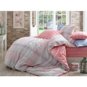 цена на Комплект постельного белья Hobby home collection Евро, поплин, Carmela, розовый (1501001111)