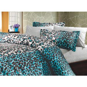 Фото - Комплект постельного белья Hobby home collection 2-х сп, поплин, Adriana, синий (1501000613) постельное белье этель кружева комплект 2 спальный поплин 2670978