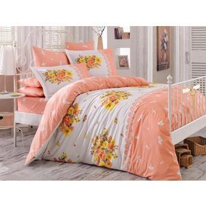 Комплект постельного белья Hobby home collection Евро, поплин, Alvis , персиковый (1501000922) комплект белья hobby home collection alvis 1 5 спальный наволочки 50x70 70x70 цвет персиковый