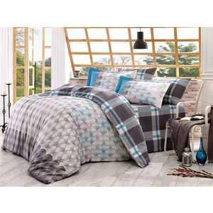 Комплект постельного белья Hobby home collection 2-х сп, поплин, Belen, серый (1501000901) цена
