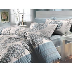 Комплект постельного белья Hobby home collection 2-х сп, поплин, Belinda, бирюзовый (1501000629)