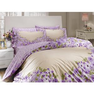 Комплект постельного белья Hobby home collection Евро, поплин, Esperanza, лиловый (1501000097) цена