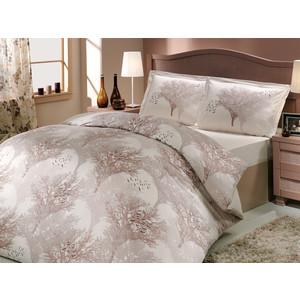 Комплект постельного белья Hobby home collection 1,5 сп, поплин, Juillet, кремовый (1501000123) decotech ваза doriane 24 см