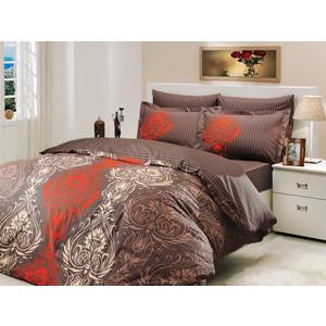 Комплект постельного белья Hobby home collection 1,5 сп, поплин, Royal, коричневый (1501000156) водолазка pettli collection pettli collection pe034ewvwc32