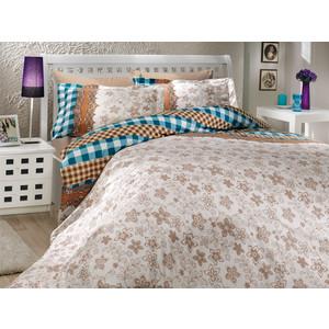 Комплект постельного белья Hobby home collection Евро, поплин, Serena, синий (1501000166)