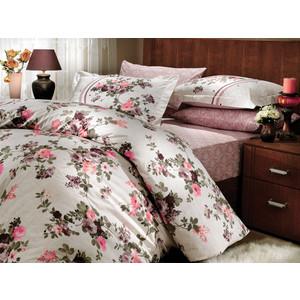 Комплект постельного белья Hobby home collection Евро, поплин, Susana, коричневый (1501000172) susana wald spanish for dummies