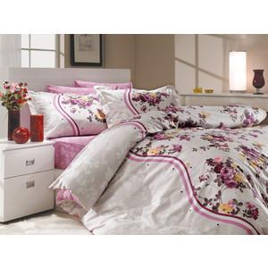 где купить  Комплект постельного белья Hobby home collection 1,5 сп, поплин, Susana, лиловый (1501000174)  по лучшей цене