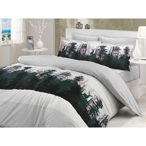 где купить Комплект постельного белья Hobby home collection Семейный, поплин, Tierra, серый (1501000187) по лучшей цене