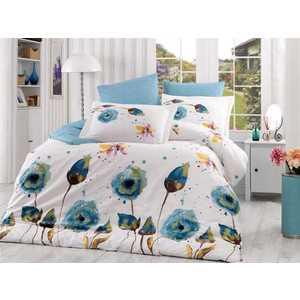 Комплект постельного белья Hobby home collection 1,5 сп, поплин, Veronika, бирюзовый (1501000885) цена