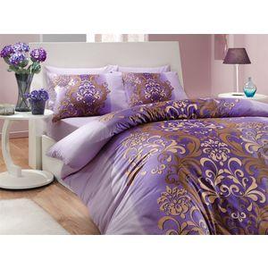 Комплект постельного белья Hobby home collection 1,5 сп, ранфорс, Almeda, фиолетовый (1501000205) комплект постельного белья hobby home collection 1 5 сп ранфорс almeda фиолетовый 1501000205