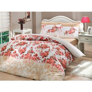Комплект постельного белья Hobby home collection Евро, ранфорс, Felicita, розовый (1501000224) цена