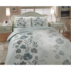 Комплект постельного белья Hobby home collection 1,5 сп, ранфорс, Flore, зеленый (1501000232) hobby collection hobby collection saphire