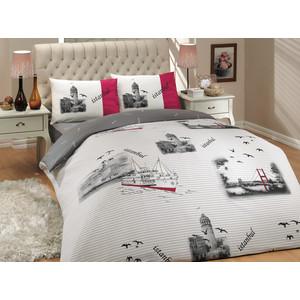 Комплект постельного белья Hobby home collection 2-х сп, ранфорс, Istanbul, серый (1501000658) edip akbayram istanbul