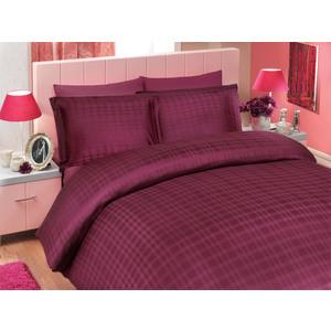 Покрывало Hobby home collection 2-х сп, бамбук, Diamond plaid, темно-фиолетовый (1501000361)