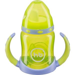 Поильник с двумя тренировочными клапанами Happy Baby FEEDING CUP (14005 LIME) детское автокресло happy baby skyler blue