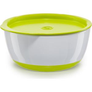 Набор тарелок с крышкой Happy Baby BOWL SET WITH AIRPROOF LID (15025 LIME)