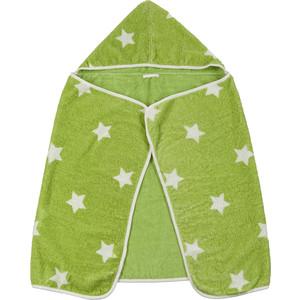 Полотенце с капюшоном Happy Baby Fluffy (34017 Green) ковш для воды happy baby bailer green 34003