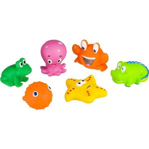 Набор ПВХ-игрушек для купания Happy Baby WATER FUN (32014)