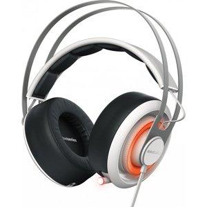 игровые наушники steelseries siberia v2 full size headset msi edition Игровые наушники SteelSeries Siberia 650 white (51192)