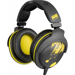 Игровая гарнитура SteelSeries 9H NaVi Edition black/yellow (61103)