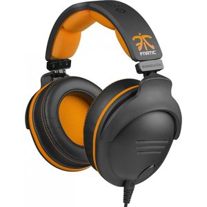 Игровая гарнитура SteelSeries 9H Fnatic Edition black/orange (61104)