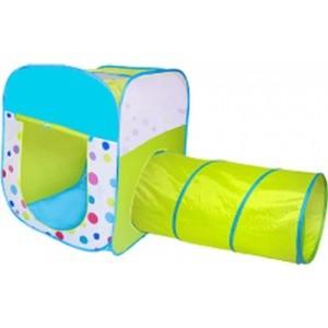 Игровая палатка Ching-Ching Конфетти, 85х85х100см, квадрат/туннель + 100 шаров (CBH-29)