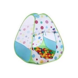 где купить Домик Bony в комплекте с шариками Треугольник большой LI526 Green 85х85х100 100 шаров дешево