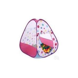 Домик Bony в комплекте с шариками Треугольник большой LI526 Pink 85х85х100 100 шаров кронштейн для тв vivanco wm 4725 34890