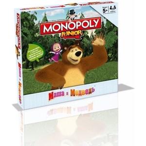 Настольная игра Hasbro Games Монополия Маша и Медведь (38003) hasbro hasbro настольная игра монополия игра престолов