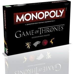 Настольная игра Hasbro Games Монополия Игра Престолов (38001) настольная игра hasbro games монополия джуниор
