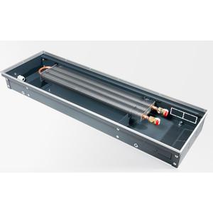 Конвектор отопления Techno внутрипольный с естественной конвекцией без решетки (KVZ 350-120-1400)