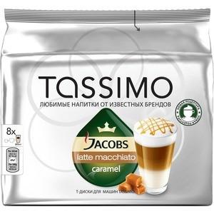 TASSIMO Латте Макиато Карамель 229,6г