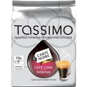 TASSIMO Карт Нуар Кафе Лонг Интенс 128г