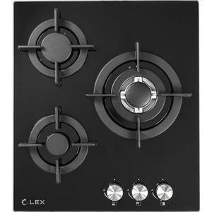 Газовая варочная панель Lex GVG 430 BL газовая варочная панель midea q301gfd bl