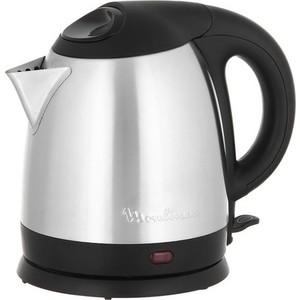 Чайник электрический Moulinex BY 430DRU чайник электрический moulinex by430dru 1500вт серебристый и черный