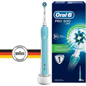 Зубная щетка Braun Oral-B Professional Clean professional care 500 голубой зубная электрощетка braun oral b 500 d16 professional care d16 513u d10 51k