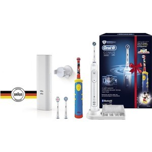Зубная щетка Braun Oral-B Genius 8200 белый