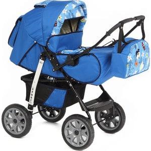 цены Коляска-трансформер Marimex Sport (синий/голубой с принтом) GL000035300
