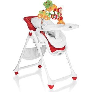 Стульчик для кормления - шезлонг Brevi B.Fun, красный, Италия GL000297705 279-645 ванна детская brevi 566 064