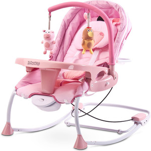 Шезлонг Caretero Rancho Pink (розовый) (TERO-8066) caretero sonata purple