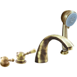 Смеситель на борт ванны Rav Slezak Labe Mosaz (L069.5PSM) смеситель для ванны rav slezak yukon yu186cb