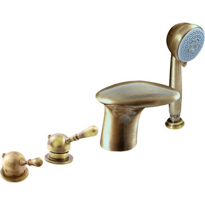 Смеситель на борт ванны Rav Slezak Labe Mosaz (L071.5PSM)  цена и фото