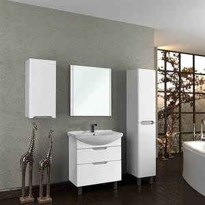 Комплект мебели Dreja Laguna Plus 105 пенал высокий береза lafutura dreja 94457