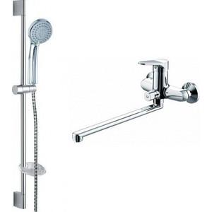 Комплект для ванной комнаты Bravat Eco 2 в 1 (F00414C)