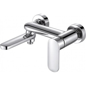 Смеситель для ванны Bravat Opal (F6125183CP-01-RUS) смеситель для душа bravat fit f9135188cp 01 rus