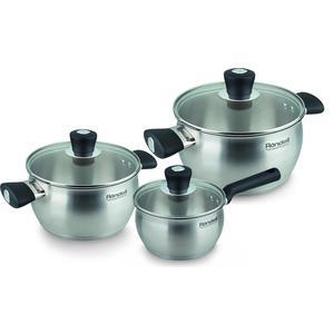 Набор посуды 6 предметов Rondell Dominant (RDS-825)