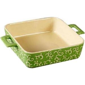 Форма для запекания квадратная  26х19х6см Appetite зеленая (YR100035A-10)