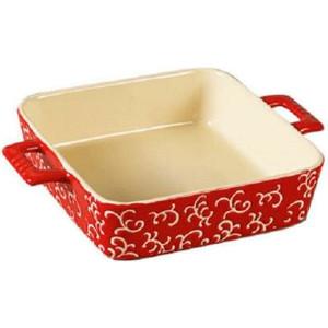 Форма для запекания квадратная  26х19х6см Appetite красная (YR100035Q-10)