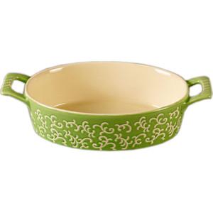 Форма для запекания овальная  30х16х7см Appetite зеленая (YR100037A-11.5)