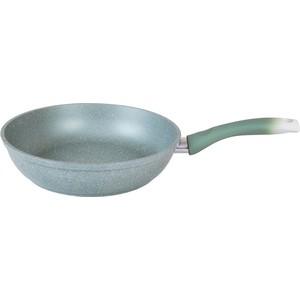 Сковорода d 26 см Kukmara Мраморная (смф262а Фисташковый мрамор) сковорода для блинов kukmara фисташковый мрамор с антипригарным покрытием диаметр 24 см